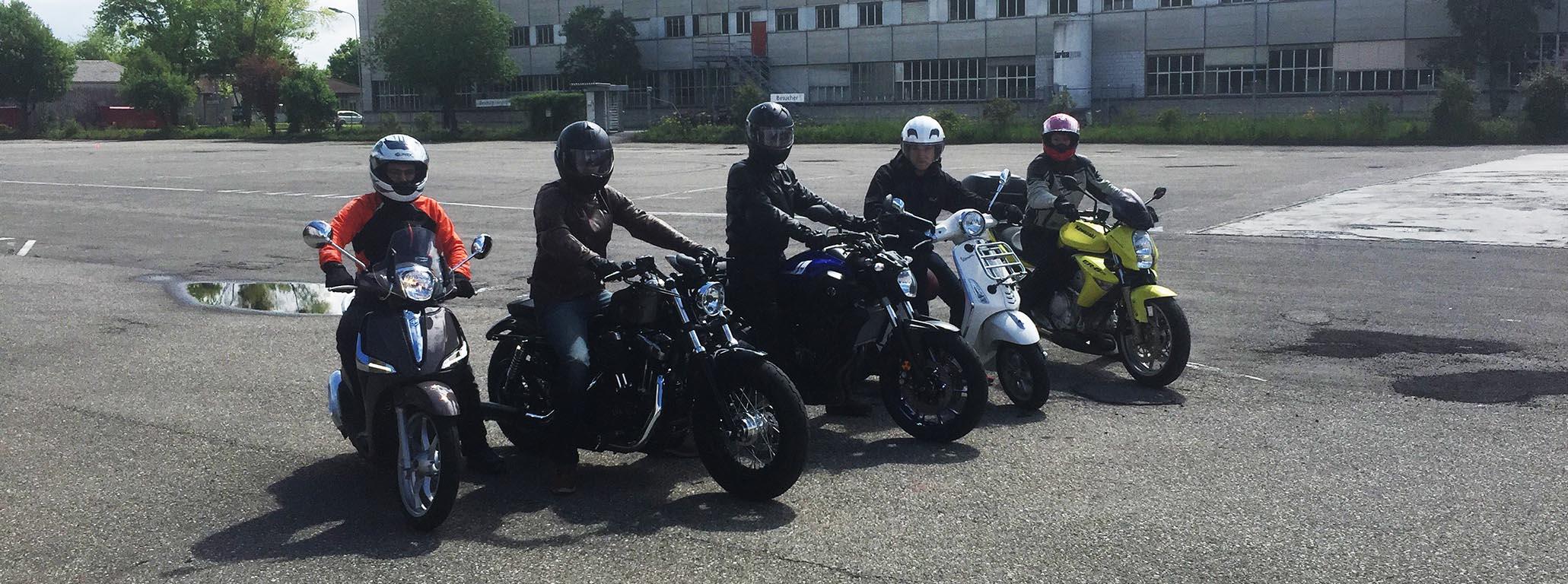 Motorradkurse